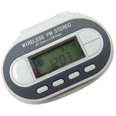 Wireless FM Transmitter for MP3 / CD / DVD / MD Playing Any FM